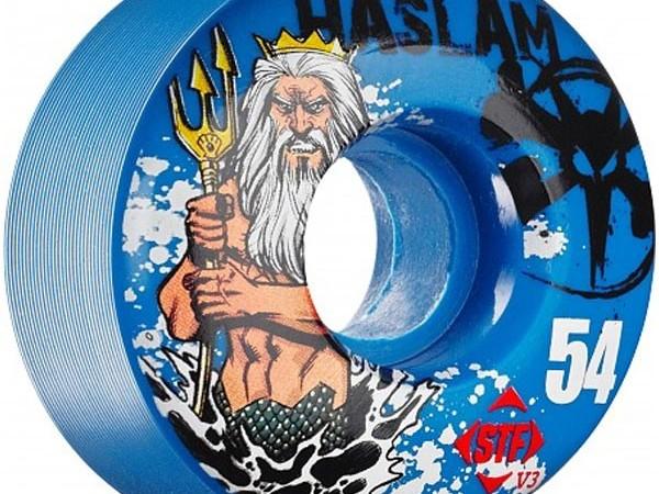 Ruedas BONES Haslam 54mm 83b azules