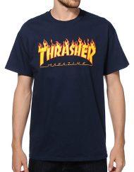 Thrasher-Flame-Logo-T-Shirt-_254076-front