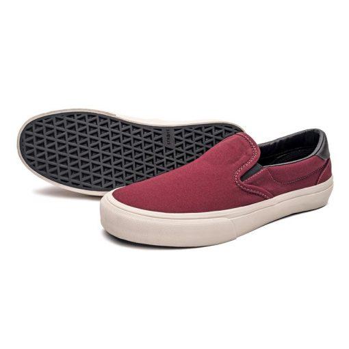 STRAYE Footwear – Ventura Burgundy